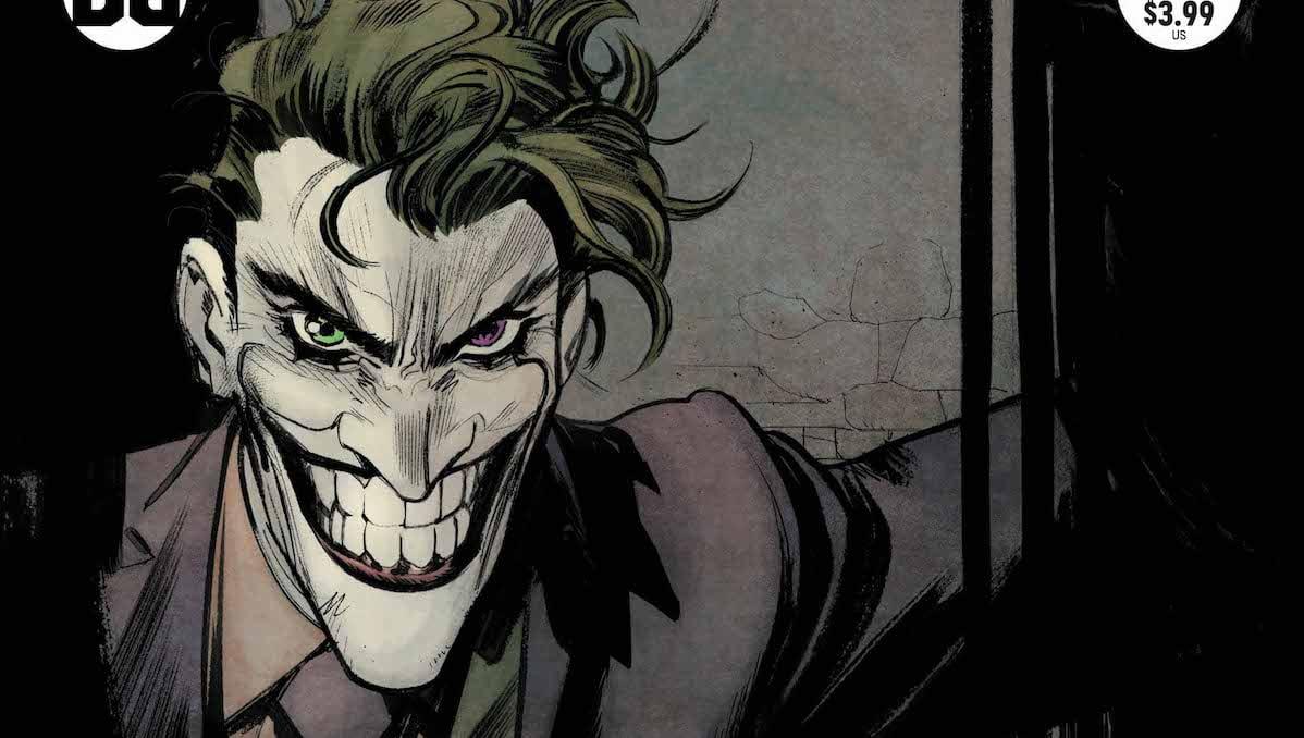 Batman White Knight #7 cover