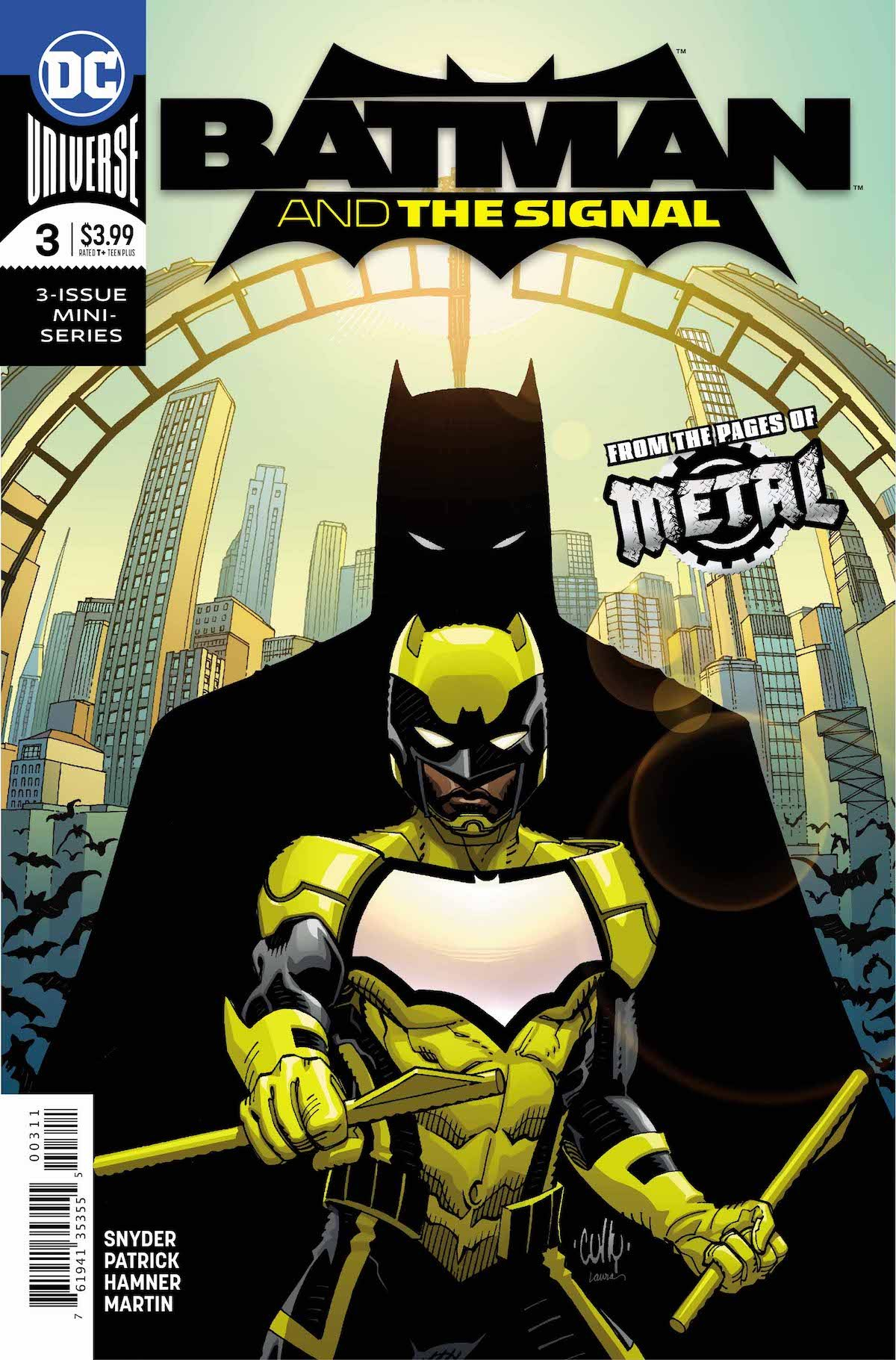 Batman and the Signal #3 cover