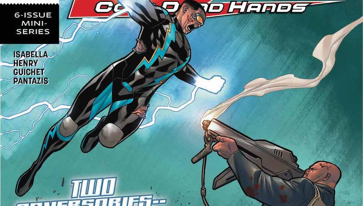 Black Lightning Cold Dead Hands #6 cover