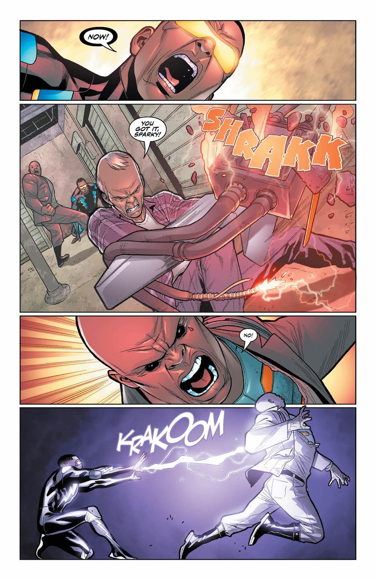 Black Lightning Cold Dead Hands #6 page 6