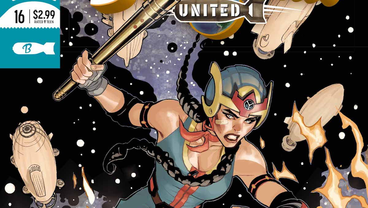 Bombshells United #16 cover