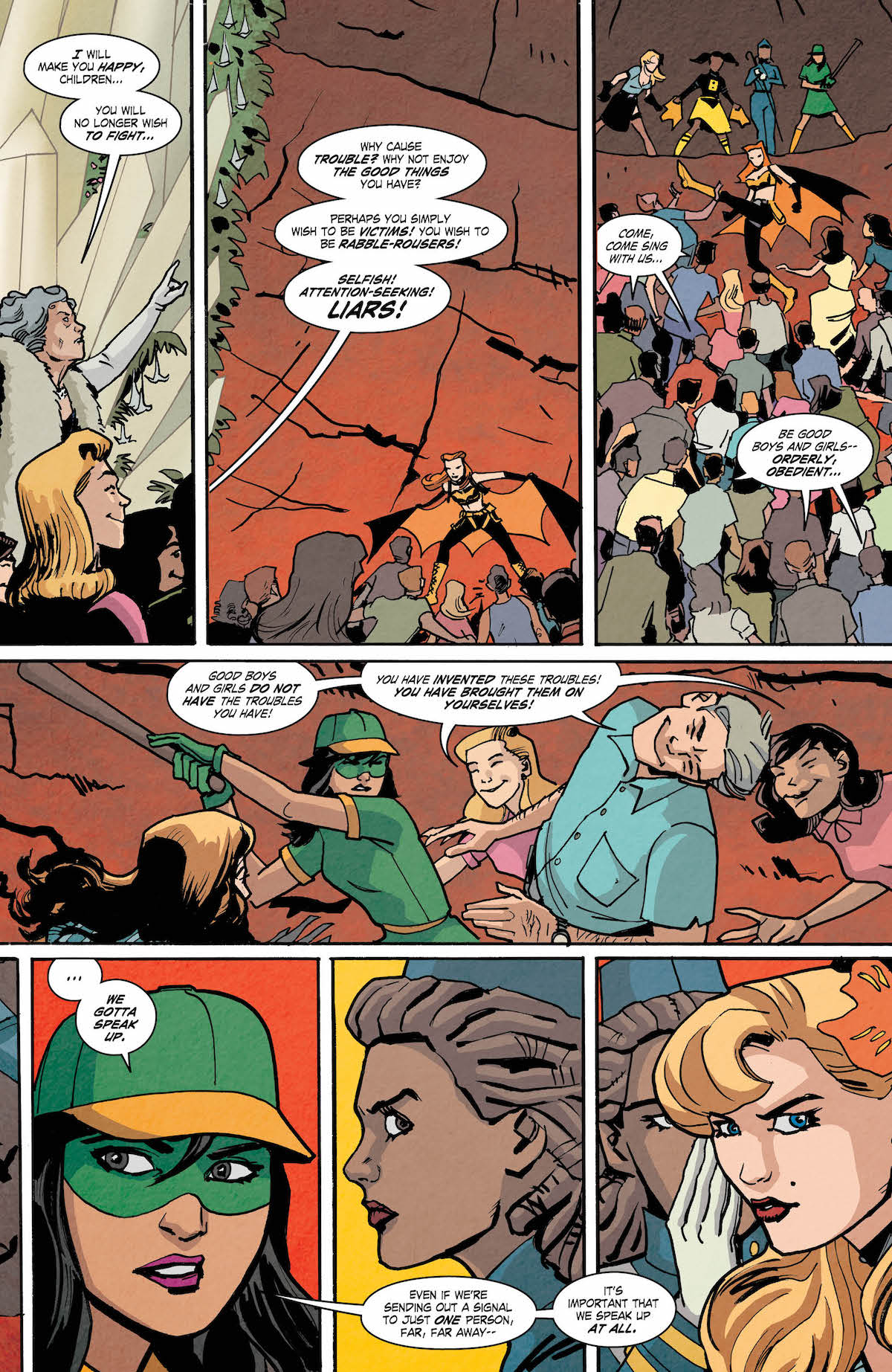 Bombshells United #16 page 5