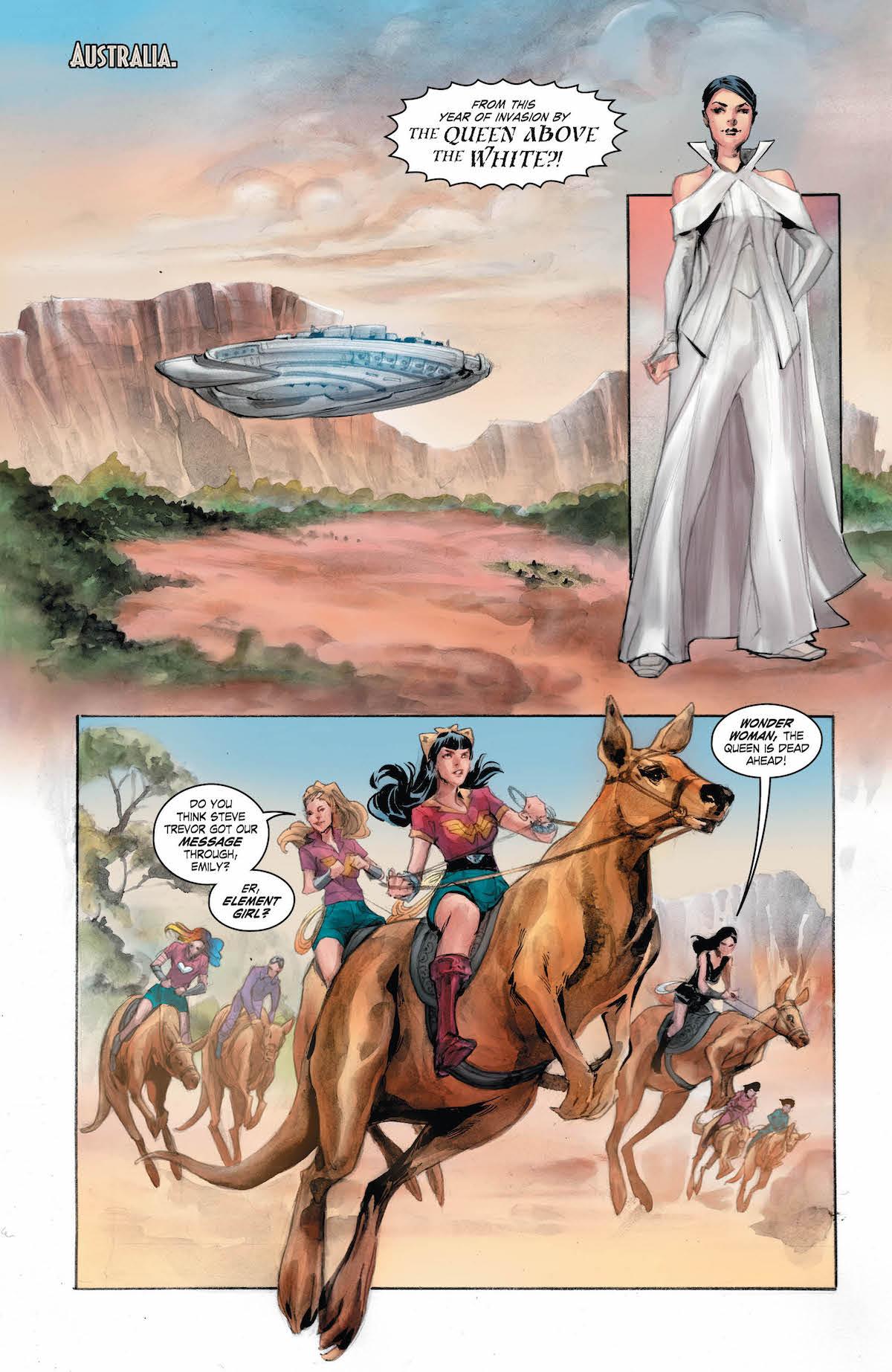 Bombshells United #17 page 4