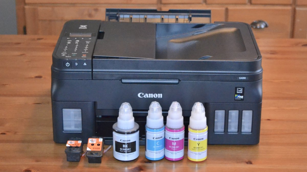 Canon Pixma G4200 Mega Tank printer review
