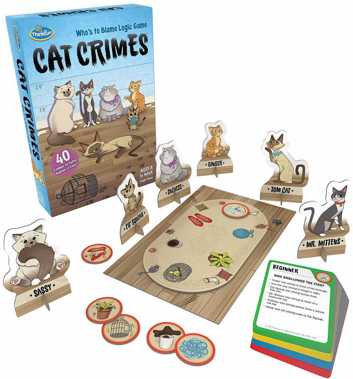 Product shot of Cat Crimes game