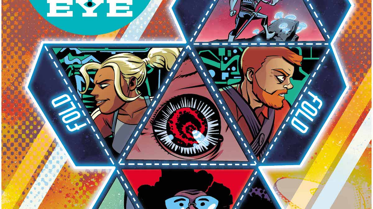 Cave Carson Has An Interstellar Eye #2 cover