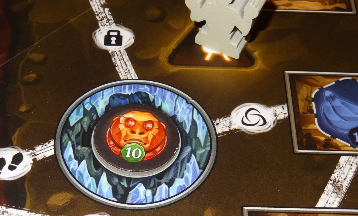 Clank! The Mummy's Curse supreme monkey idol