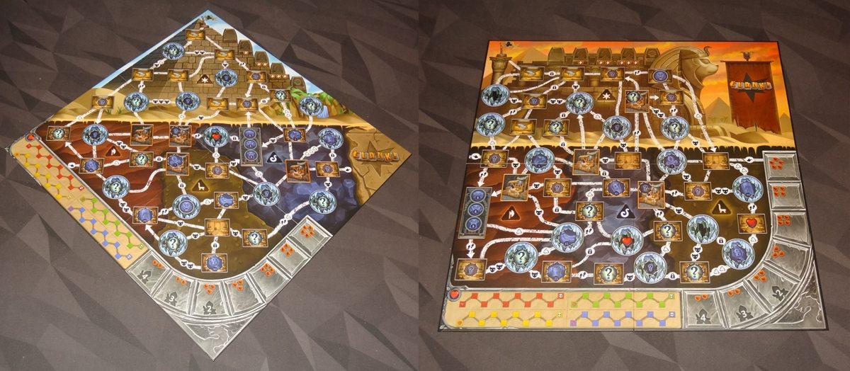 Clank! The Mummy's Curse board