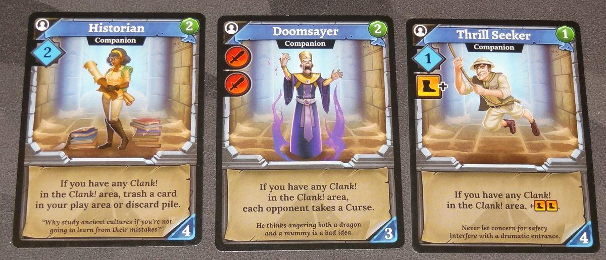 Clank! The Mummy's Curse clank cards