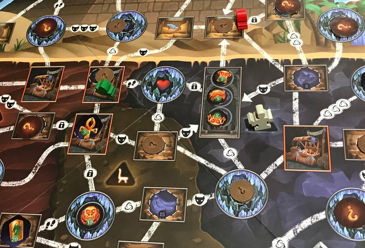 Clank! The Mummy's Curse exploring the pyramid