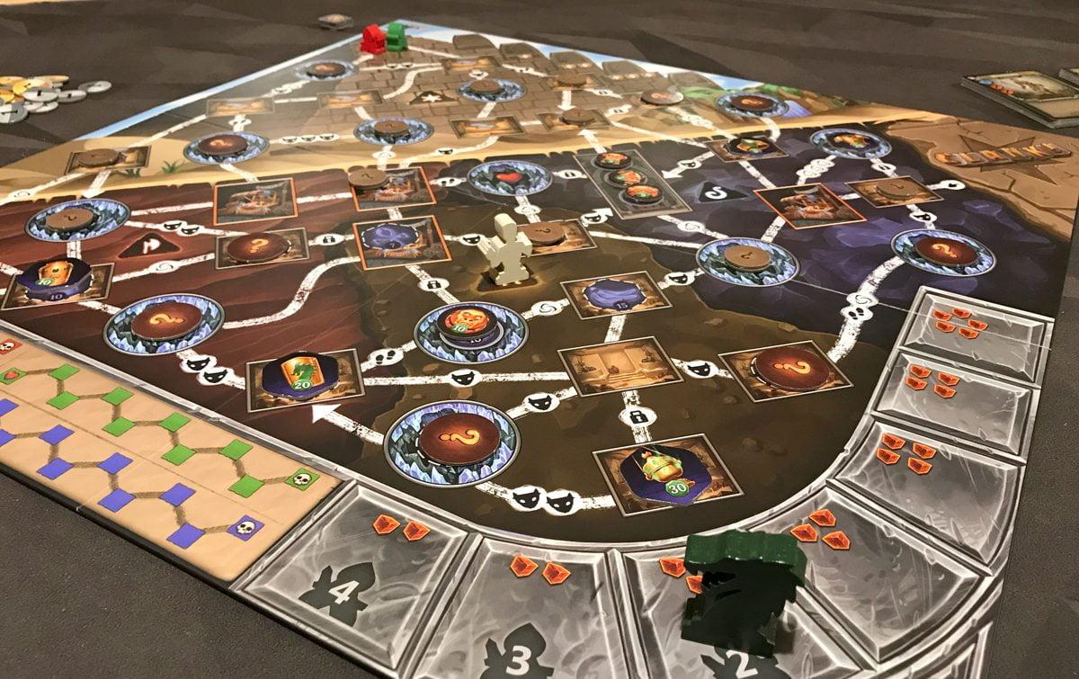 Clank! The Mummy's Curse gameplay