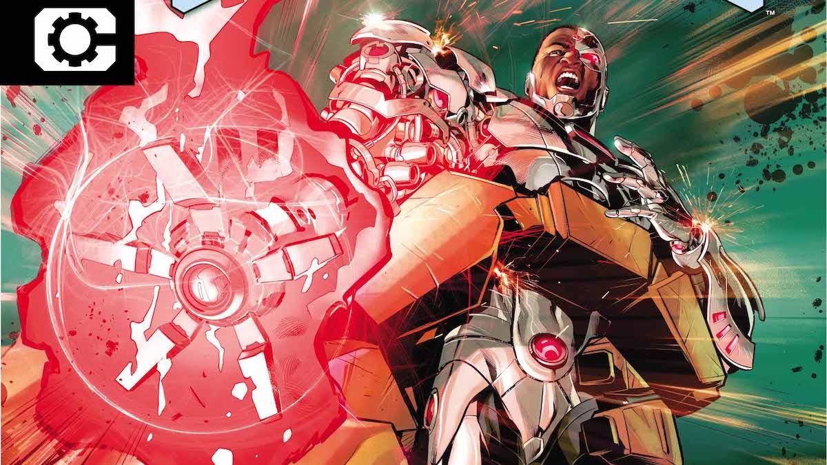 Cyborg #22 cover
