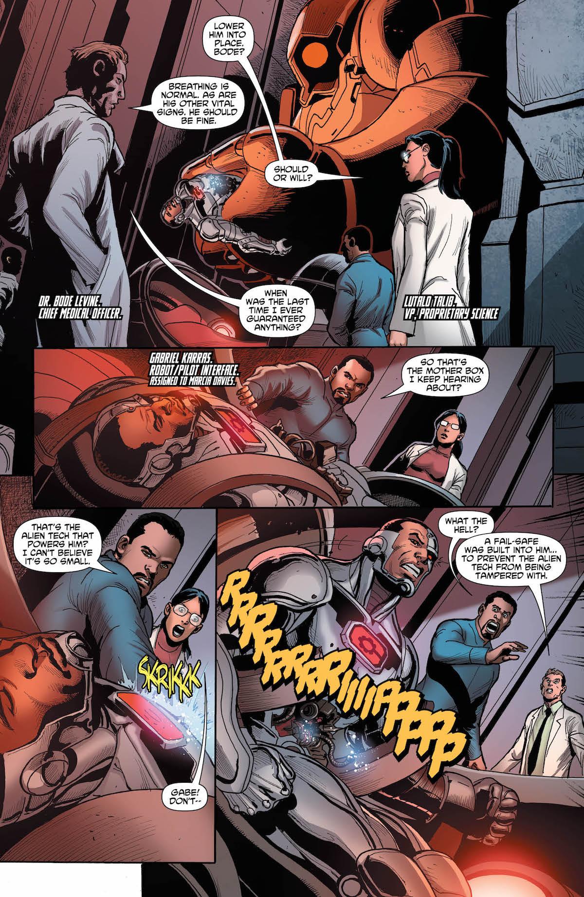 Cyborg #22 page 4