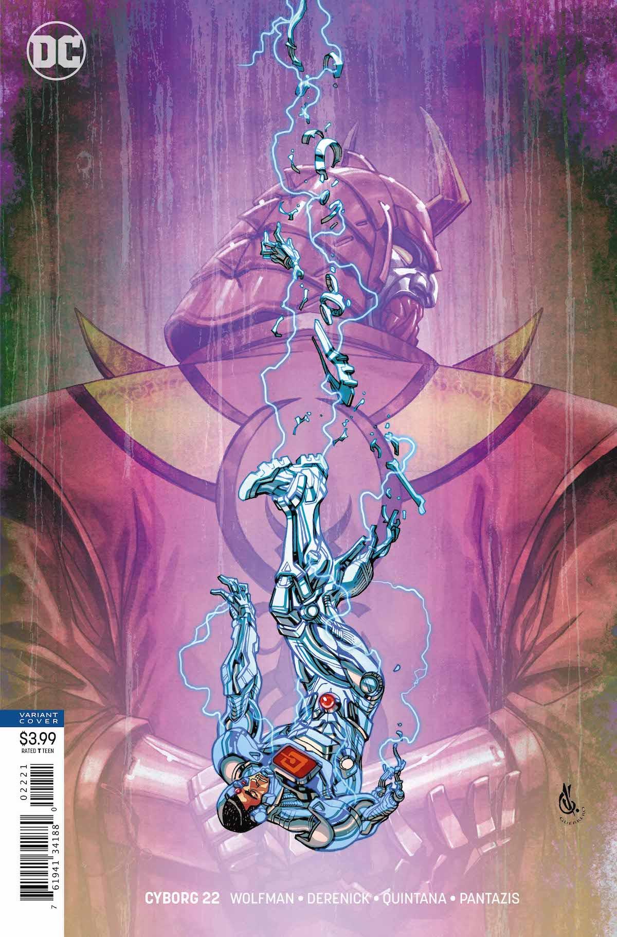 Cyborg #22 variant cover