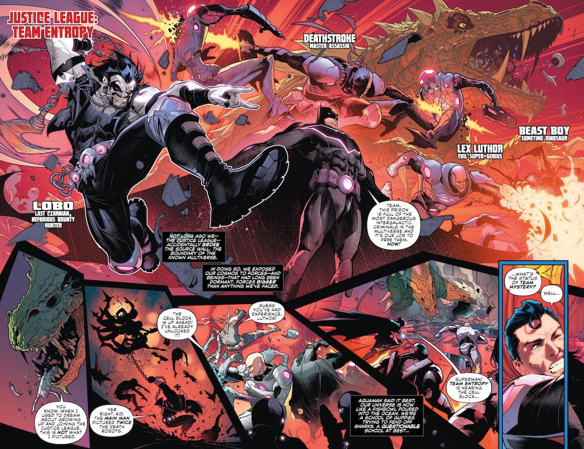 DC Nation #0 No Justice Superman