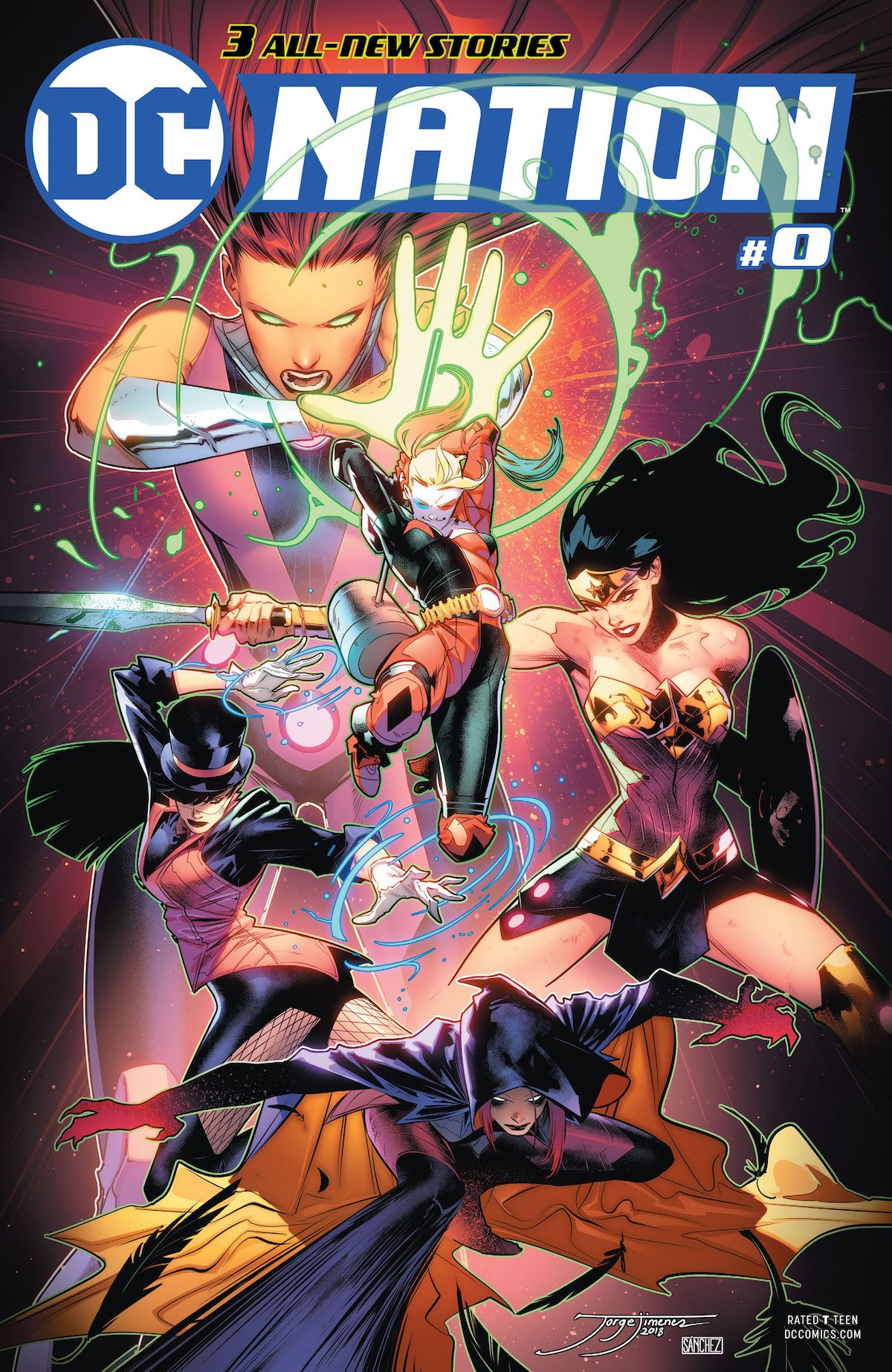 DC Nation #0 cover No Justice
