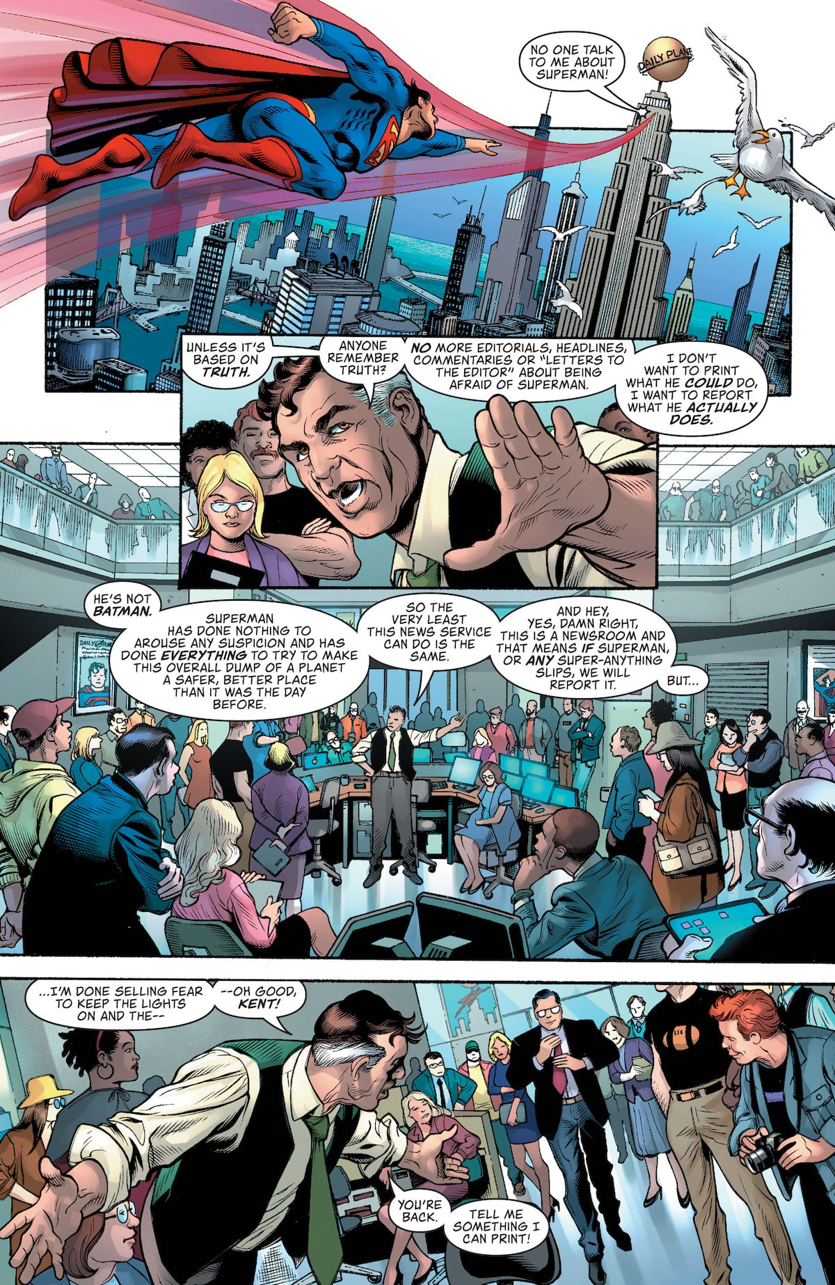 DC Nation #0 Superman preview