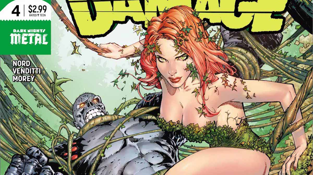 Damage #4 cover Poison Ivy