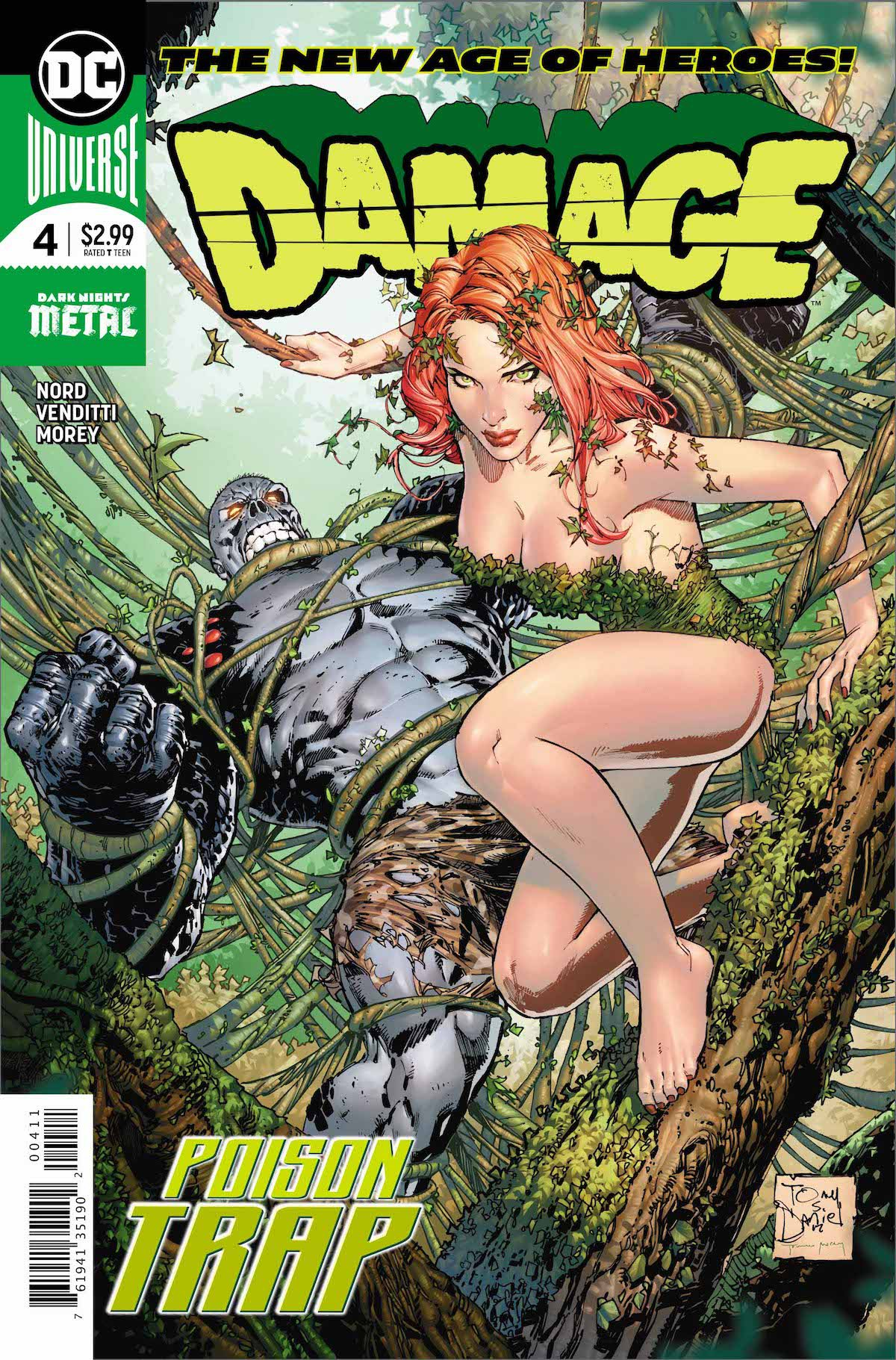 Damage #4 cover