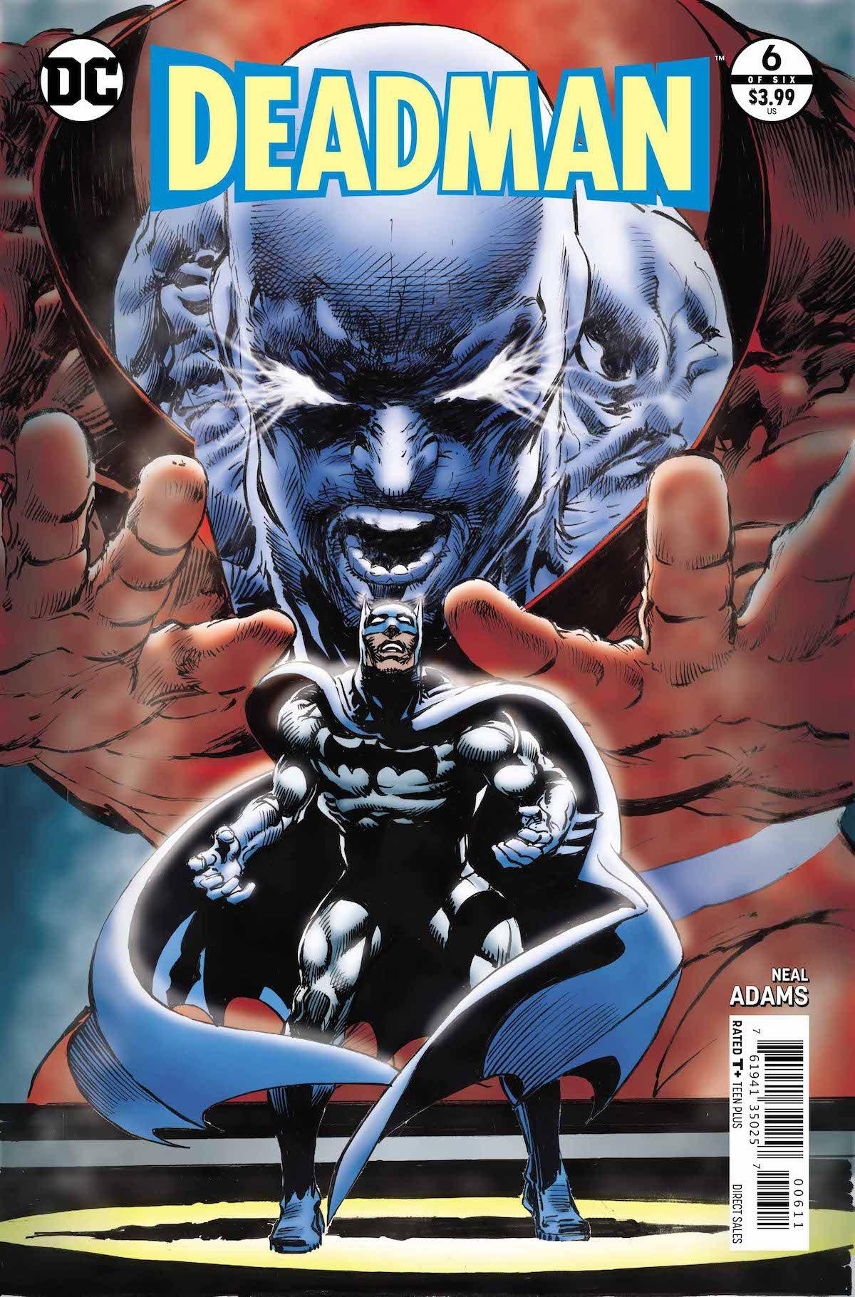 Deadman #6 cover
