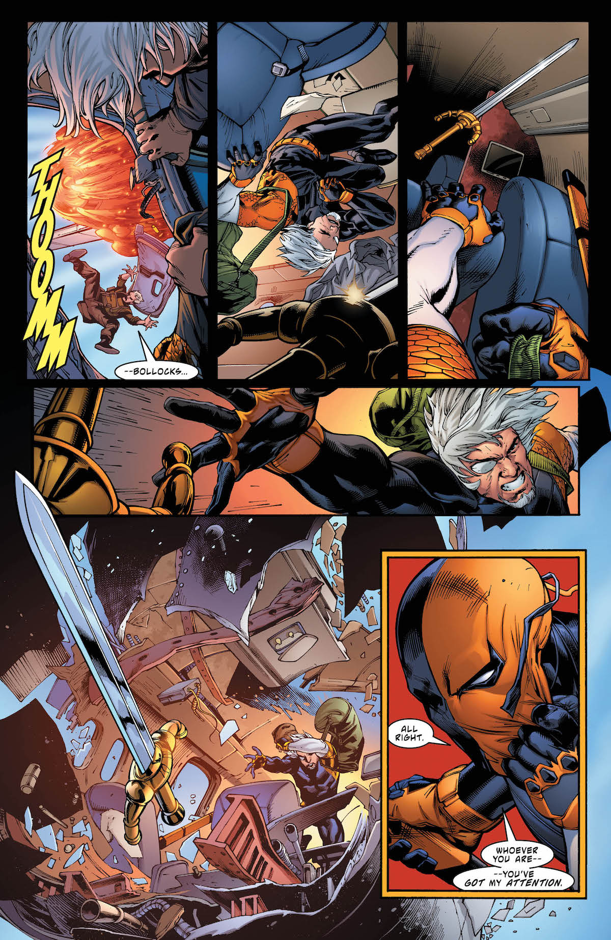 Deathstroke #31 page 4