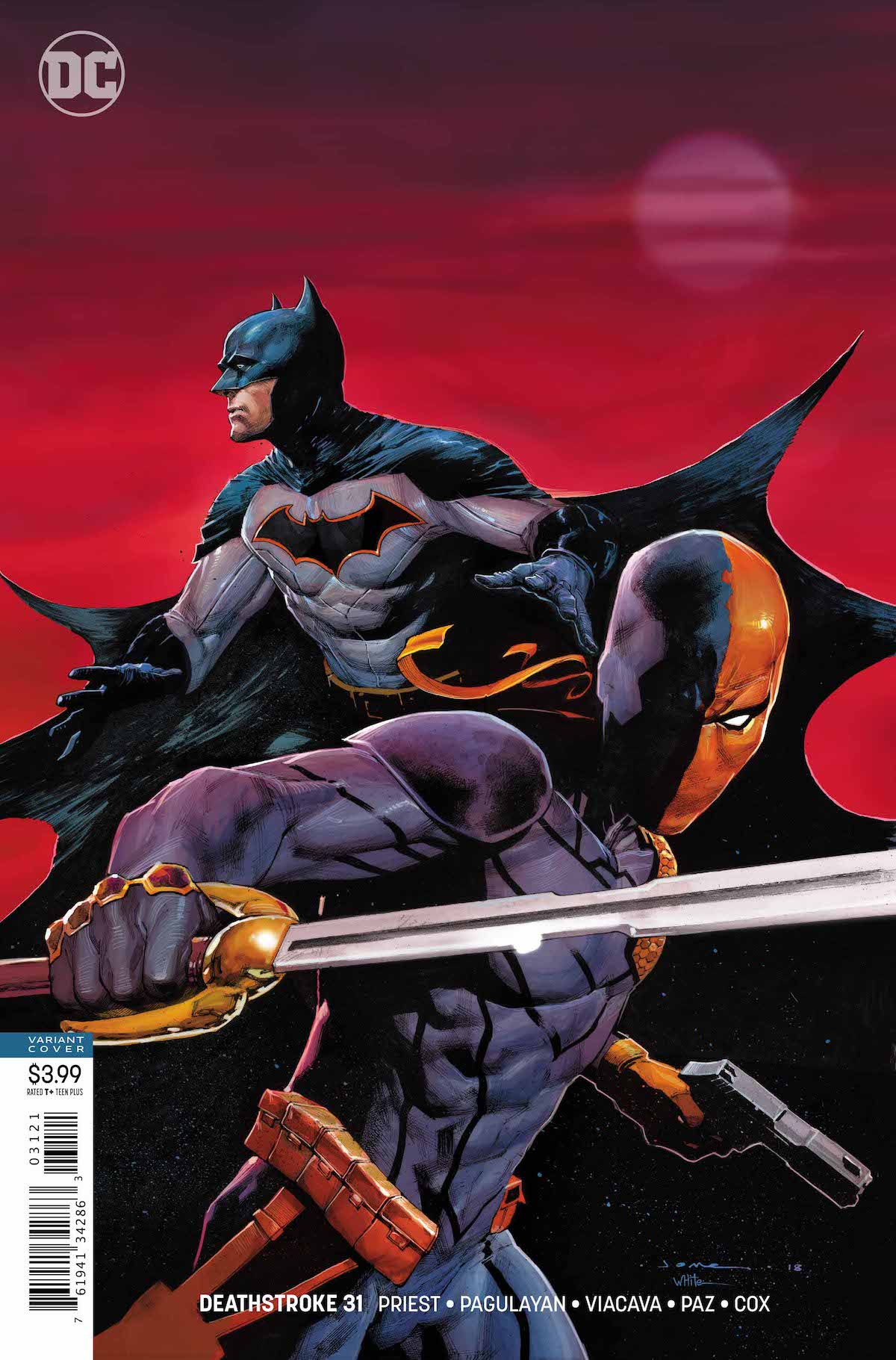 Deathstroke #31 variant cover
