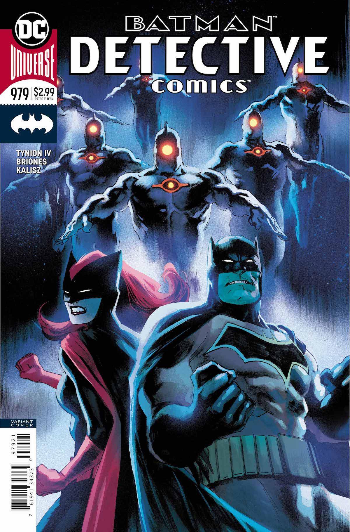 Detective Comics #979 variant cover