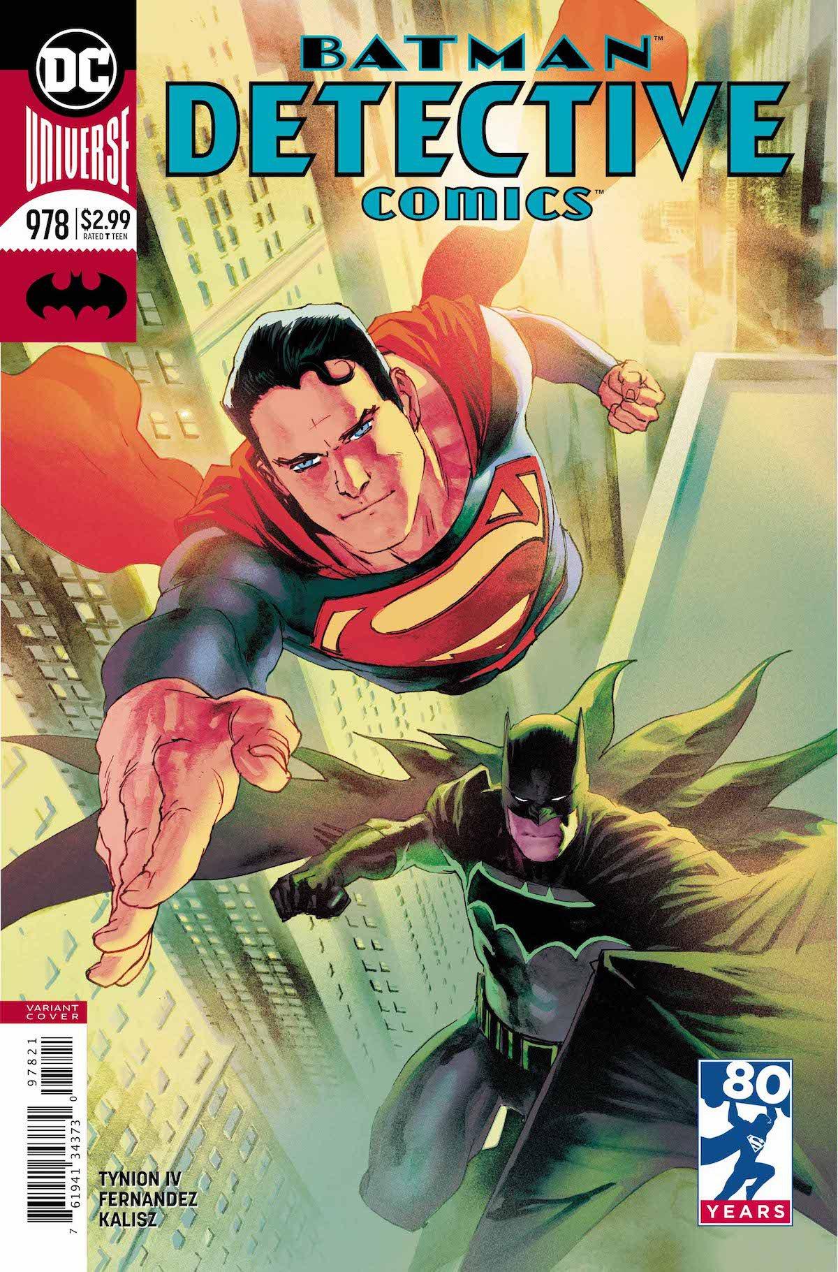 Detective Comics #978 variant cover