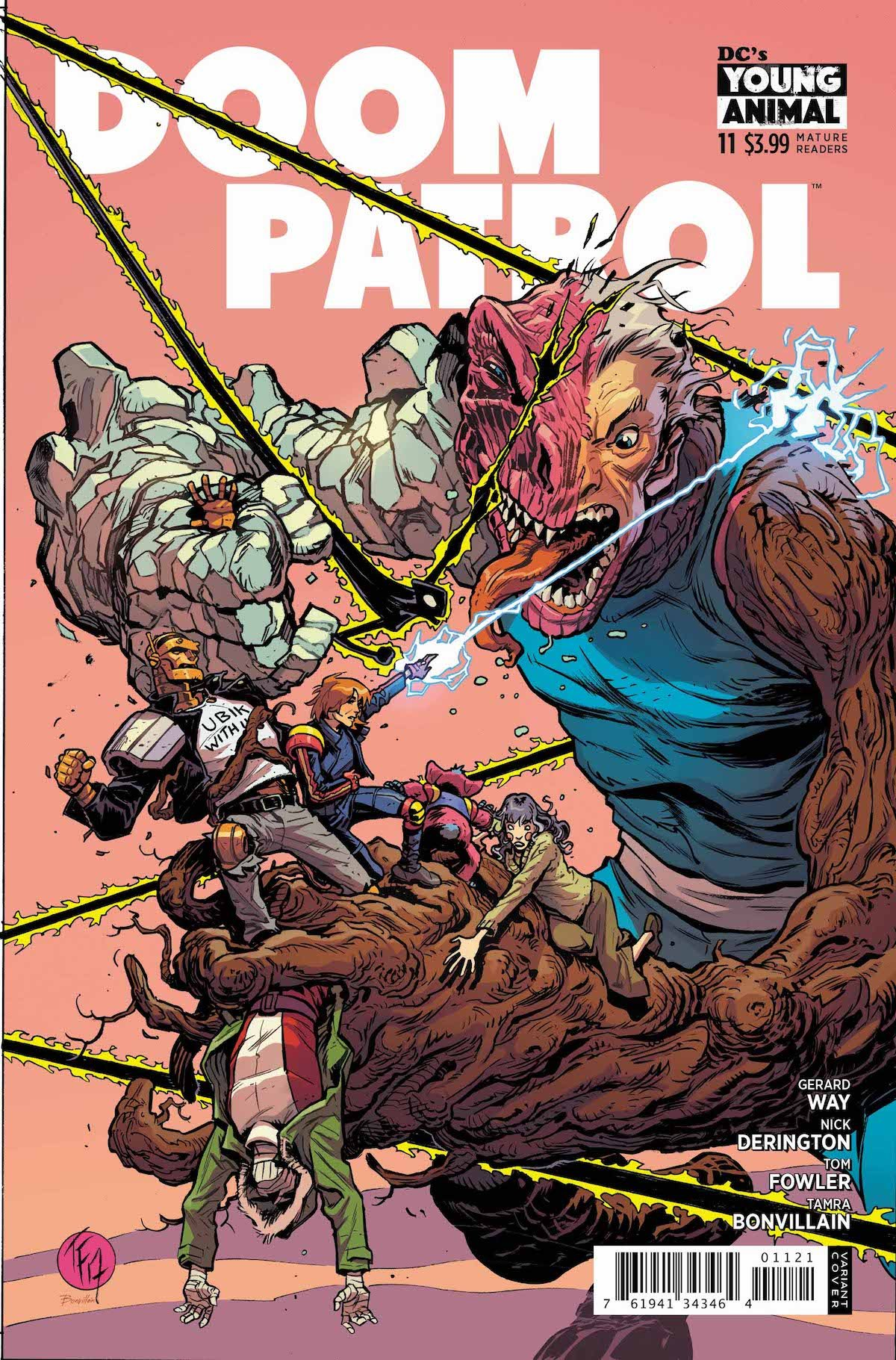 Doom Patrol #11 variant cover