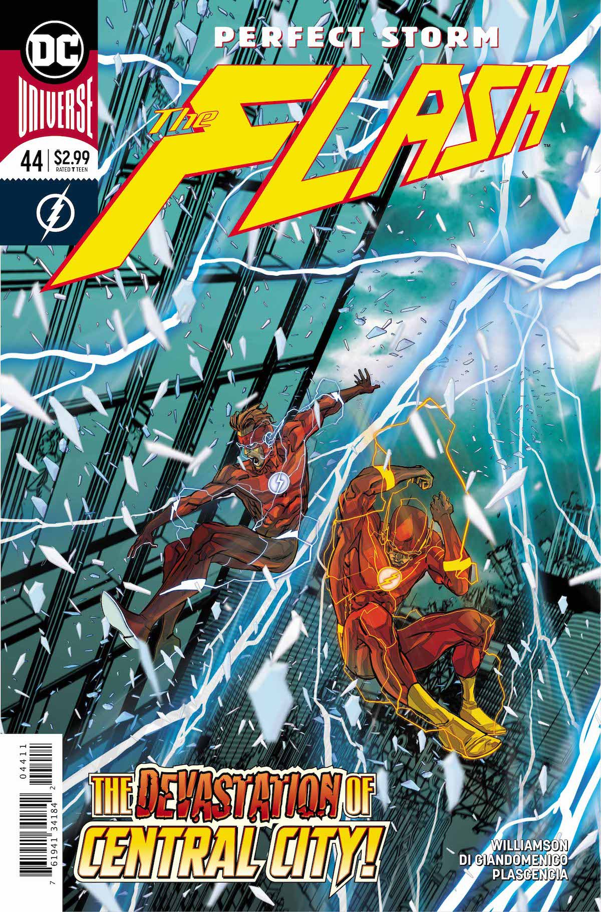 Flash #44 cover