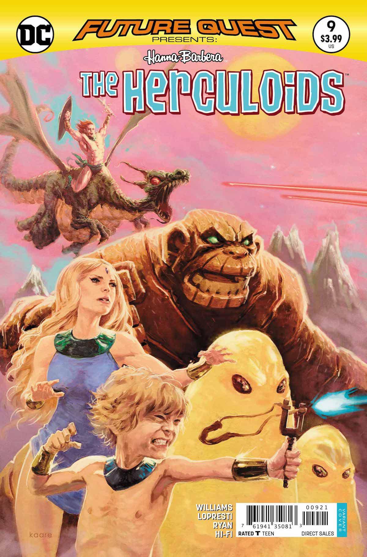 Future Quest Presents #9 variant cover