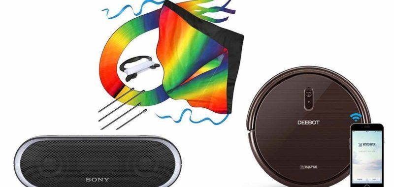 Geek Daily Deals 040218 sony speaker rainbow kite robot vacuum