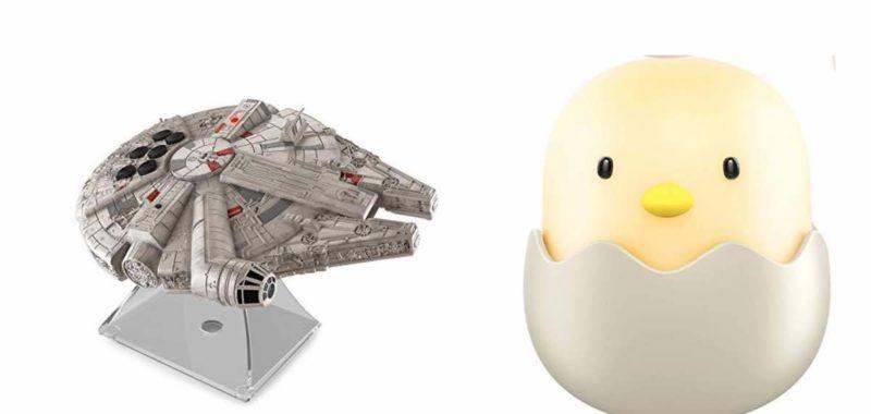 Geek Daily Deals 040418 star wars speaker chick nightlight