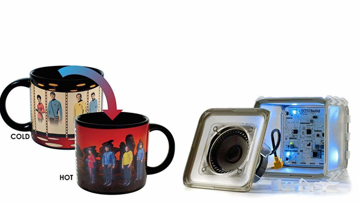 Geek Daily Deals 040918 star trek mug bose speaker kit