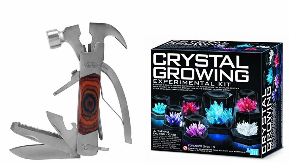 Geek Daily Deals 041718 multitool crystal growing kit