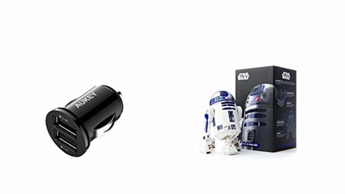 Geek Daily Deals 042718 12V USB Port R2D2 Toy