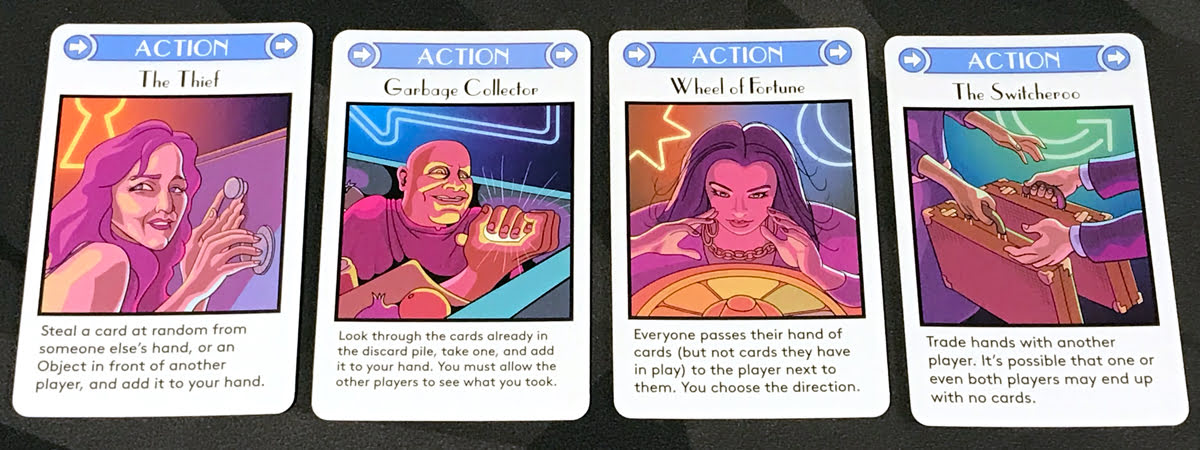 Get the MacGuffin action cards
