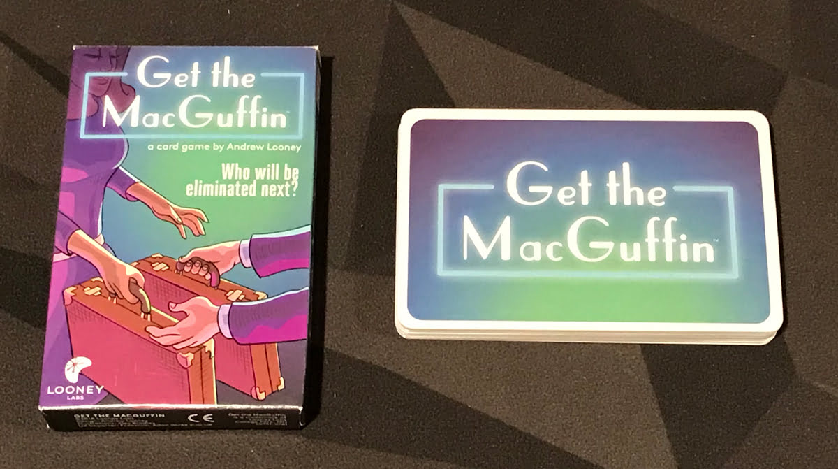 Get the MacGuffin components