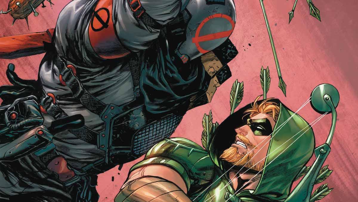 Green Arrow #39 cover