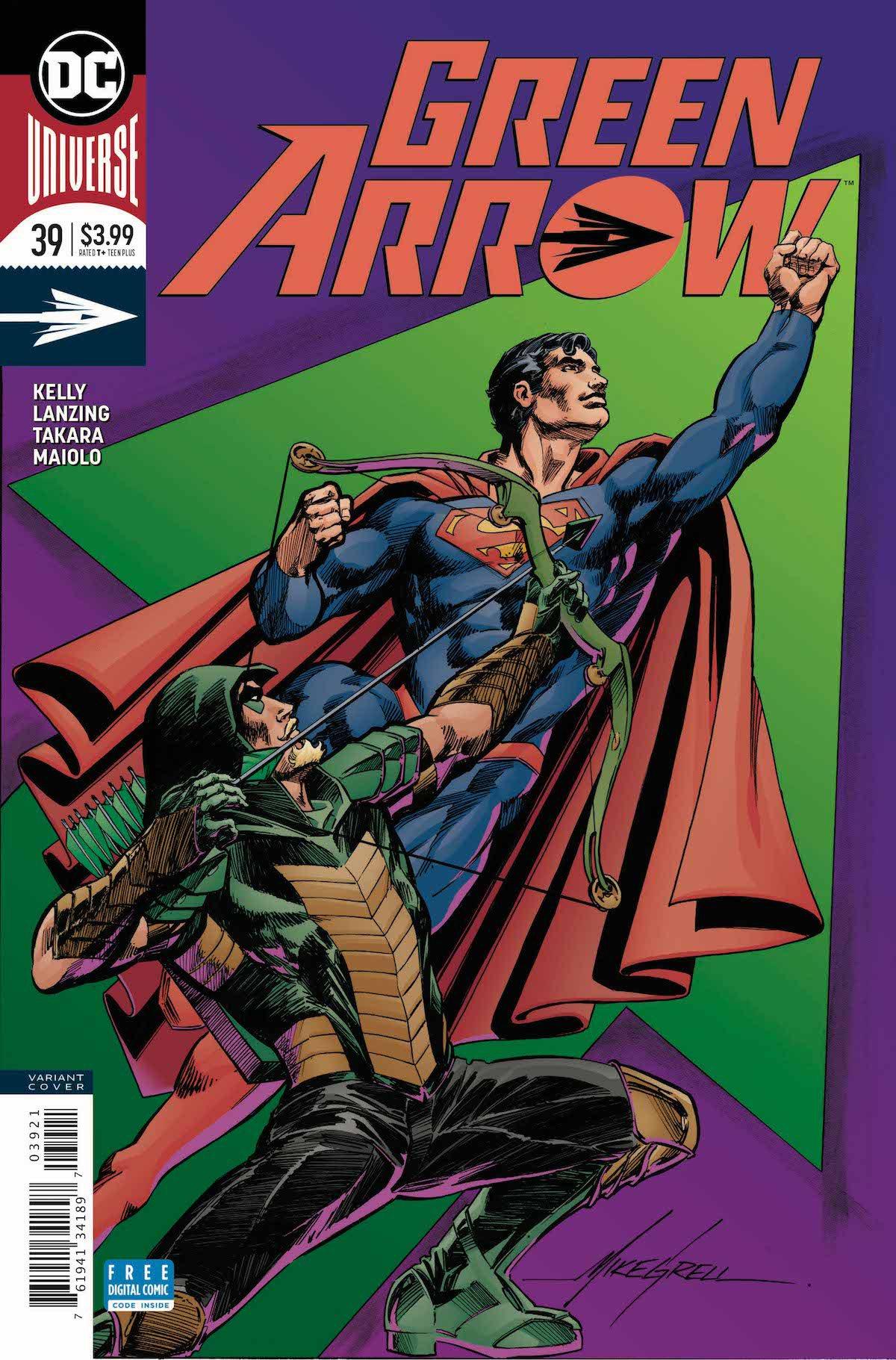 Green Arrow #39 variant cover