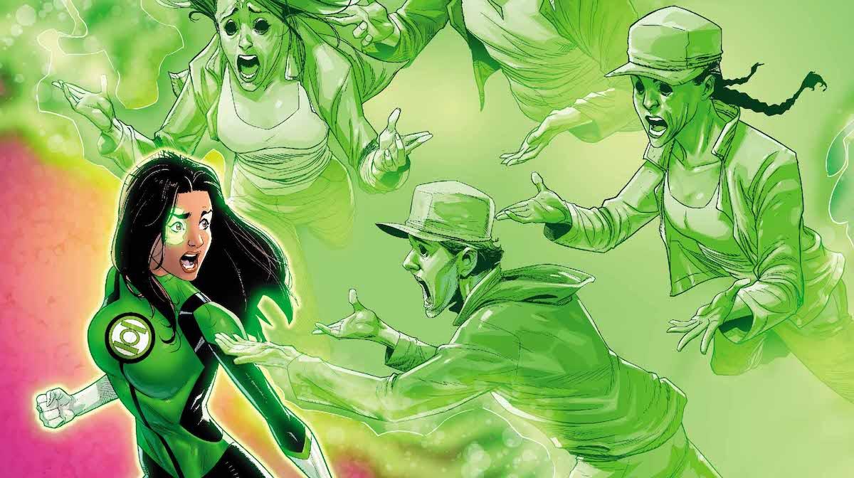 Green Lanterns #45 cover