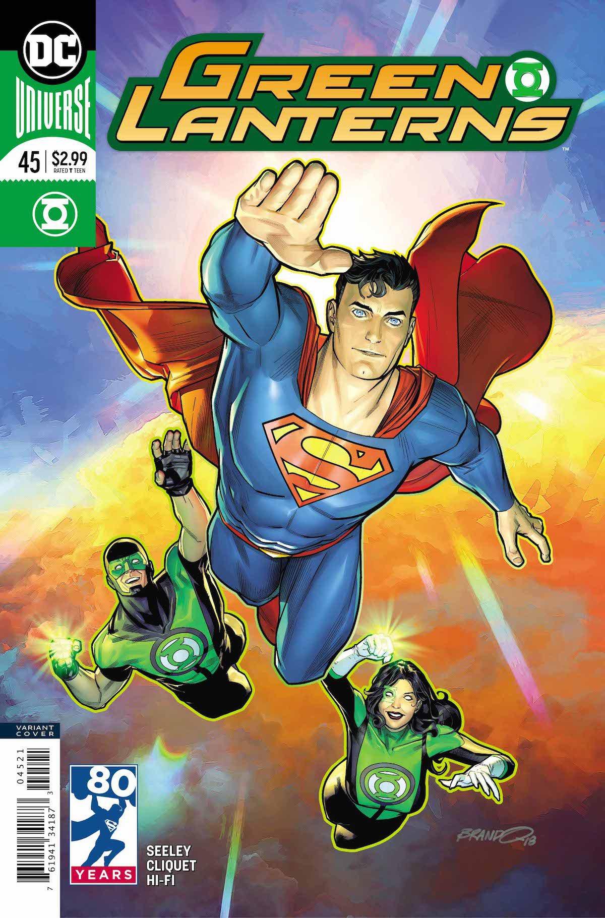 Green Lanterns #45 variant cover