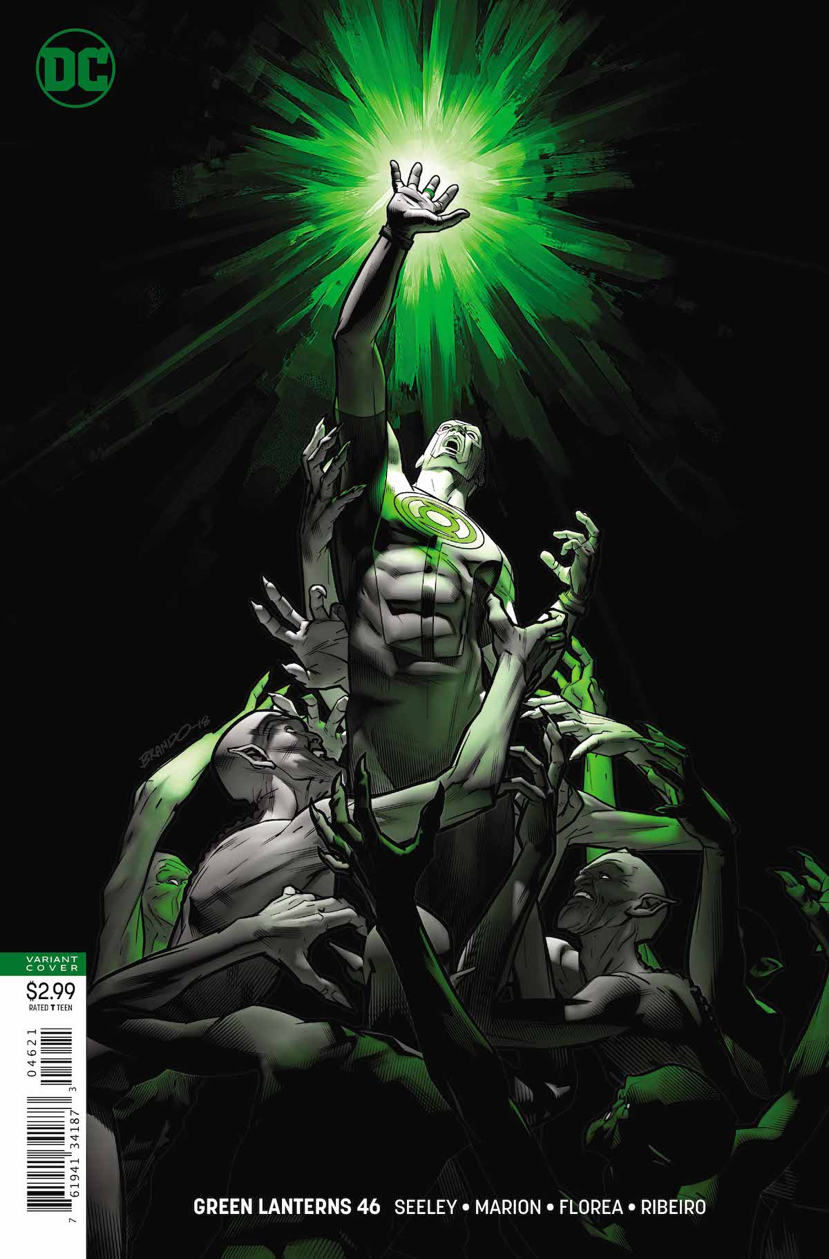 Green Lanterns #46 variant cover