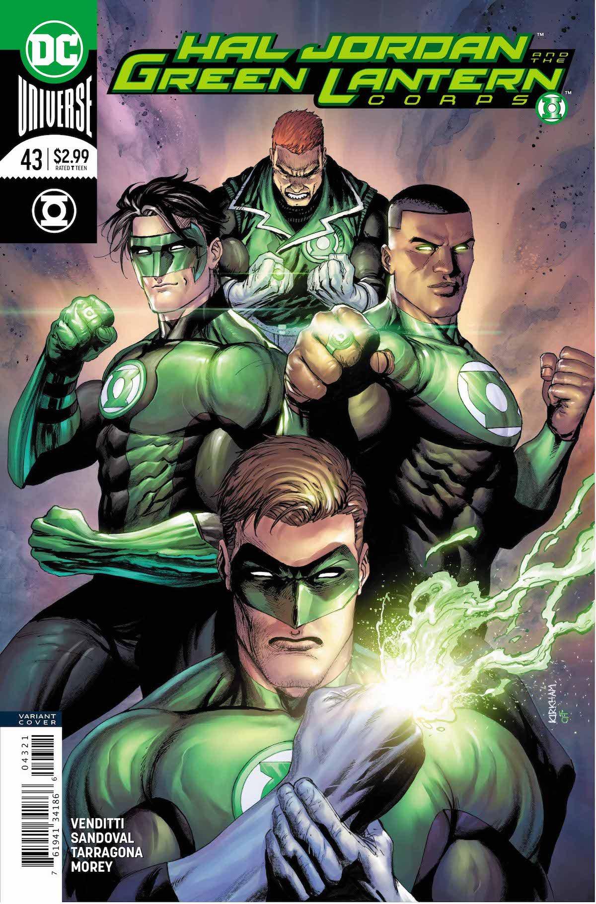 Hal Jordan #43 variant cover