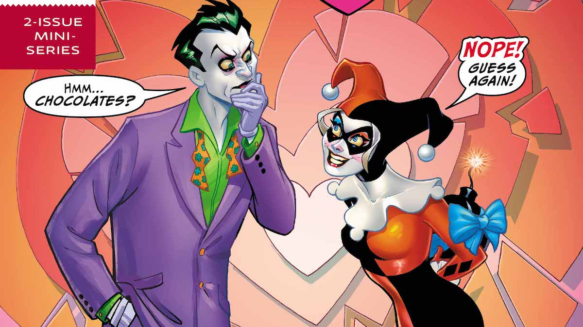 Harley Loves Joker #1 cover