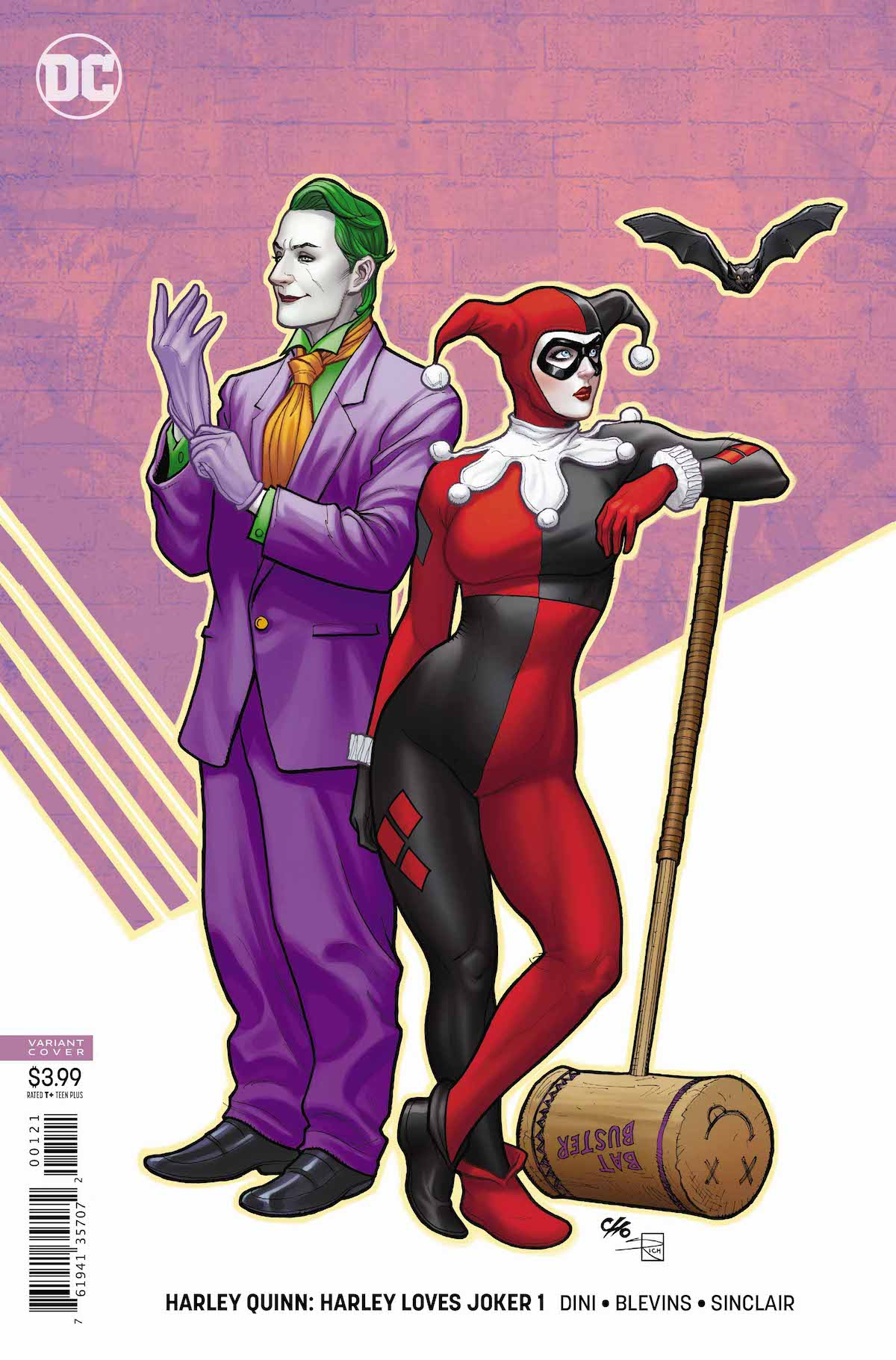 Harley Loves Joker #1 variant cover