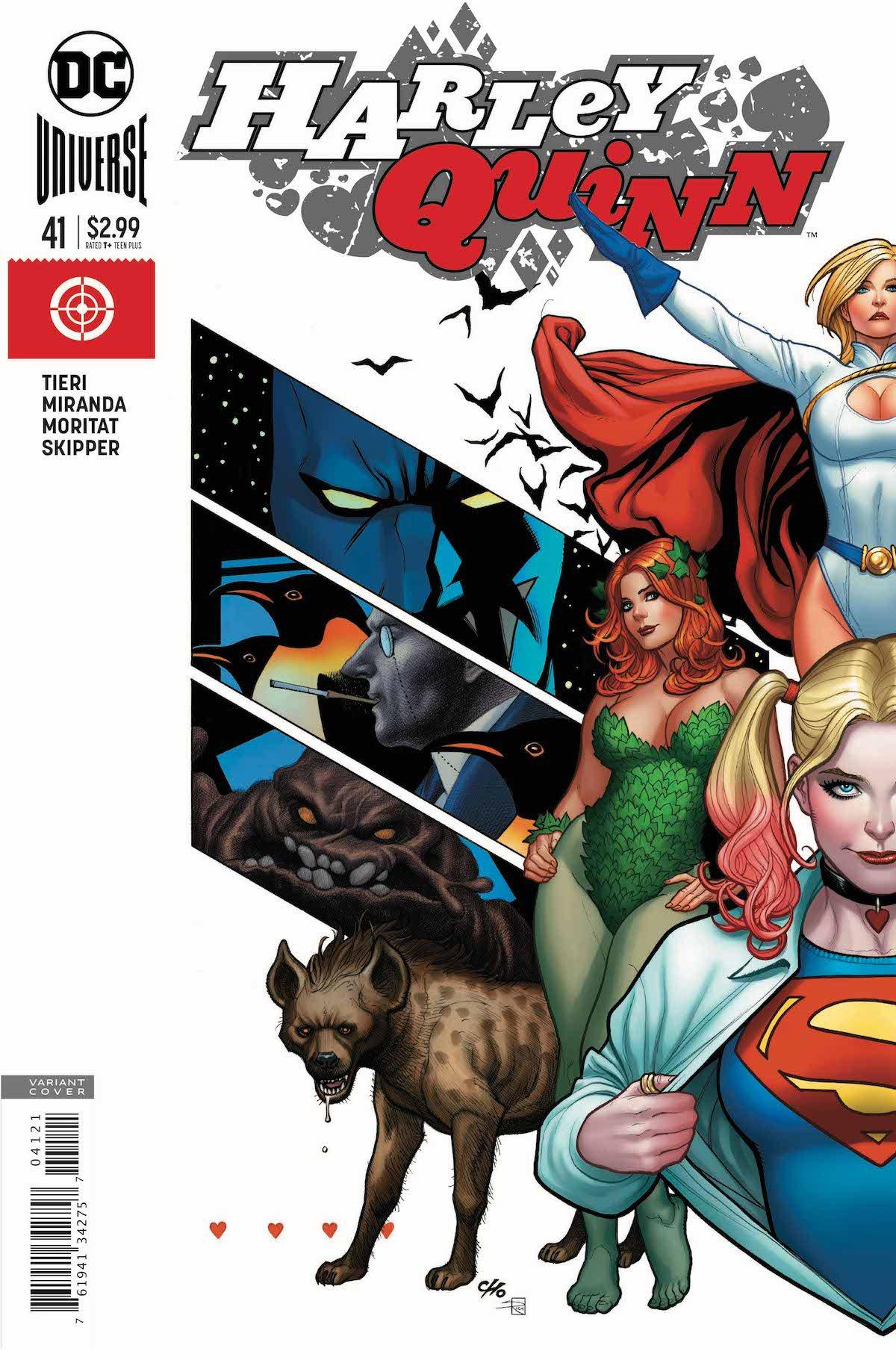 Harley Quinn #41 variant cover