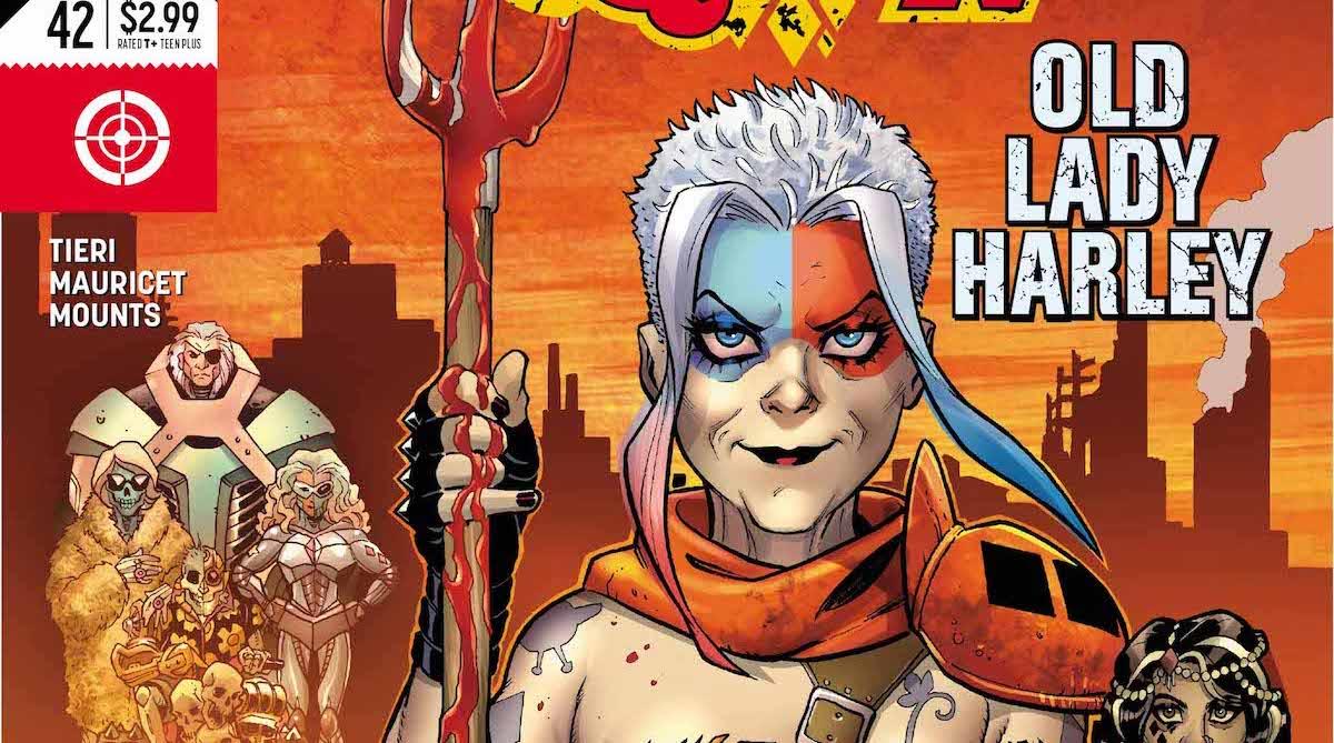 Harley Quinn #42 cover