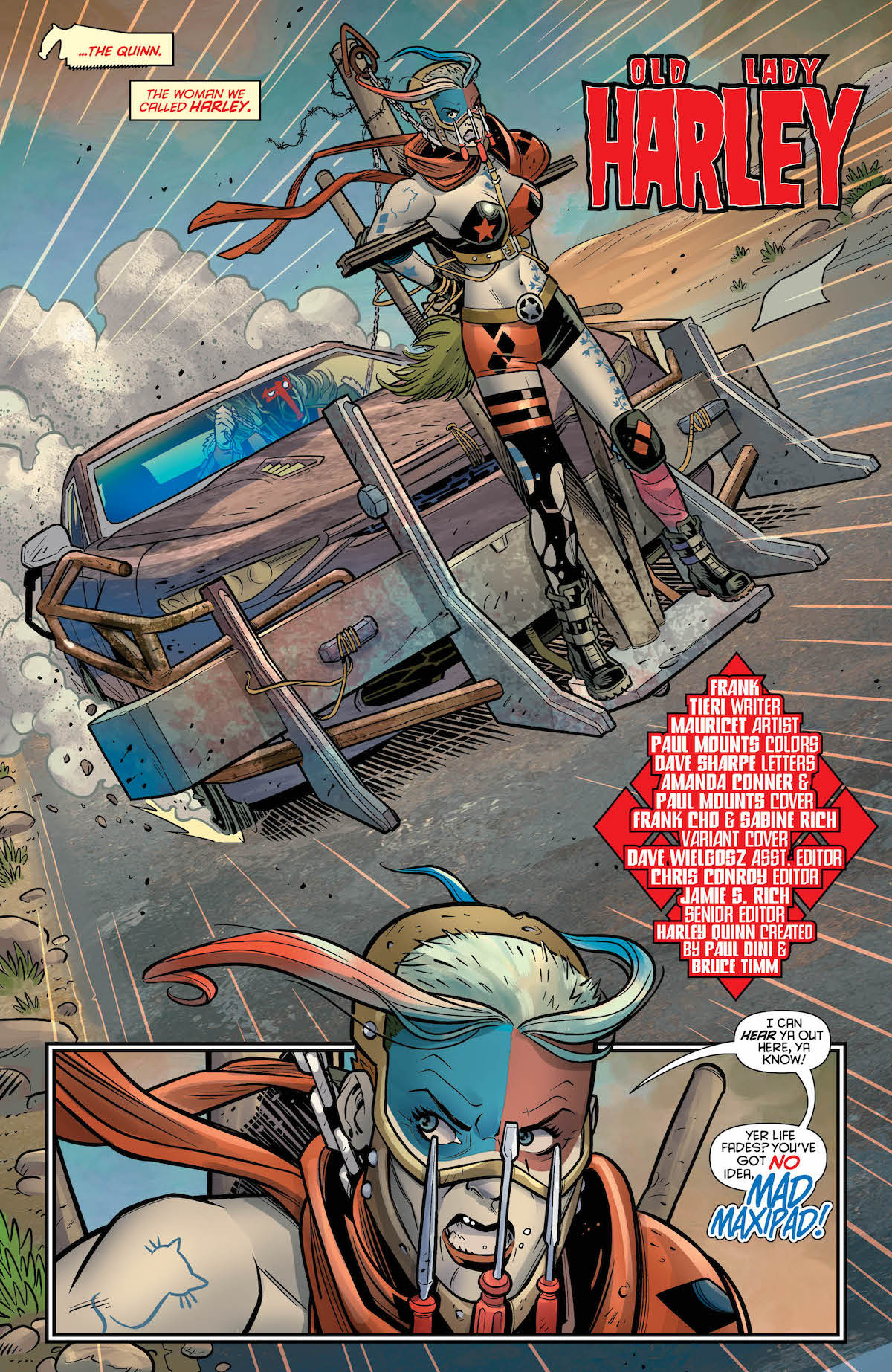 Harley Quinn #42 page 2