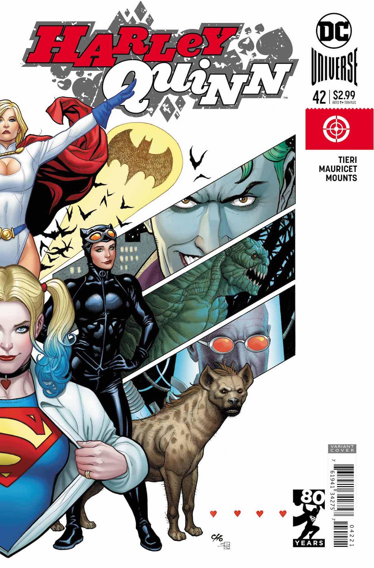 Harley Quinn #42 Superman variant cover